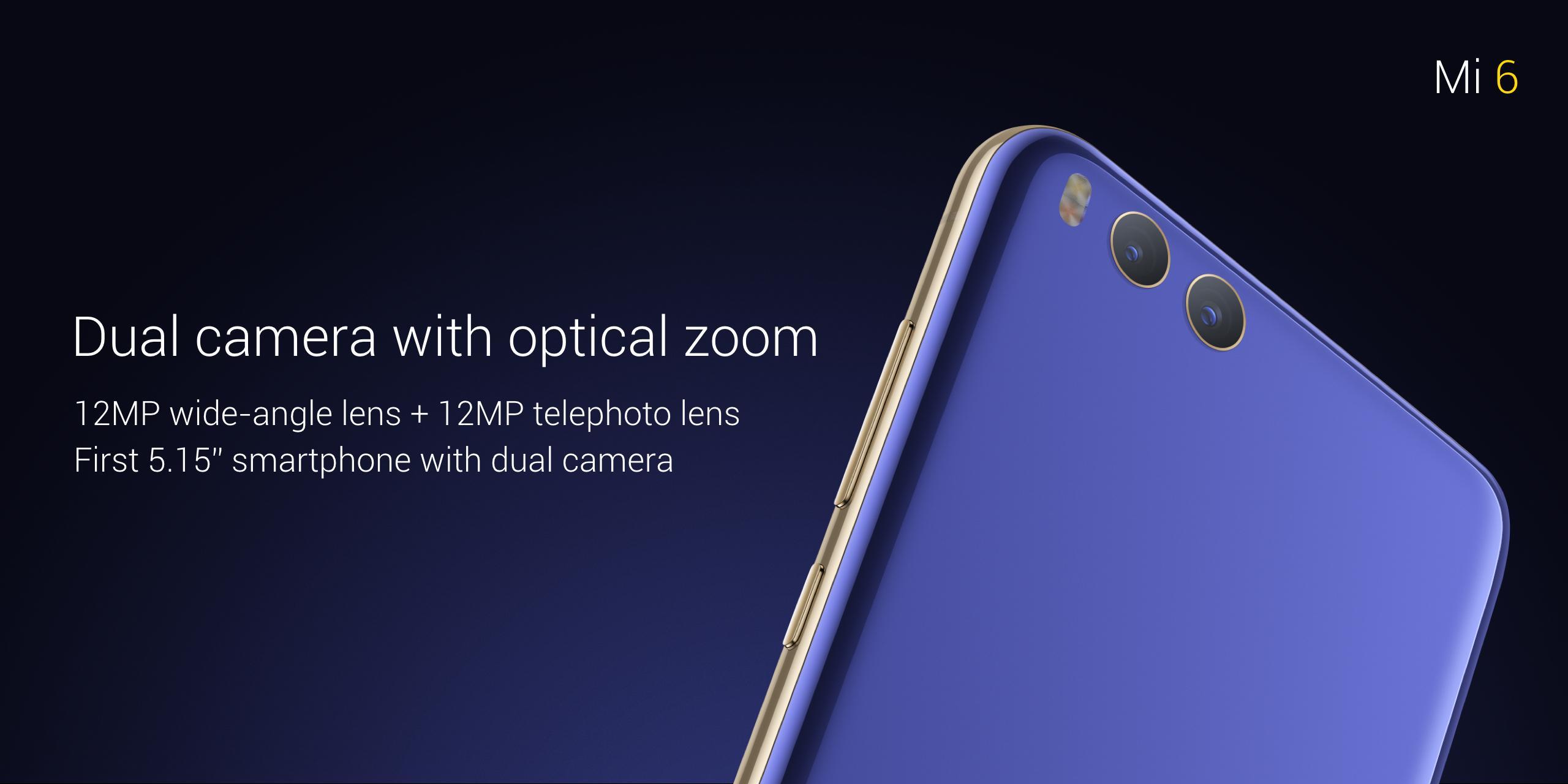 Xiaomi Mi6 cámara