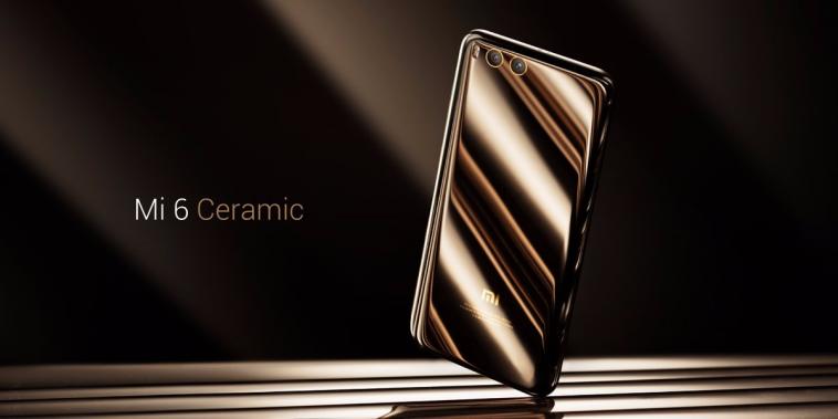 Xiaomi Mi 6 cerámica escaparate