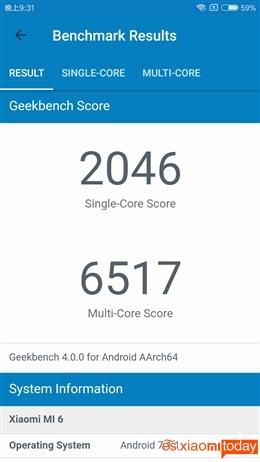 Xiaomi Mi 6 rendimiento 04