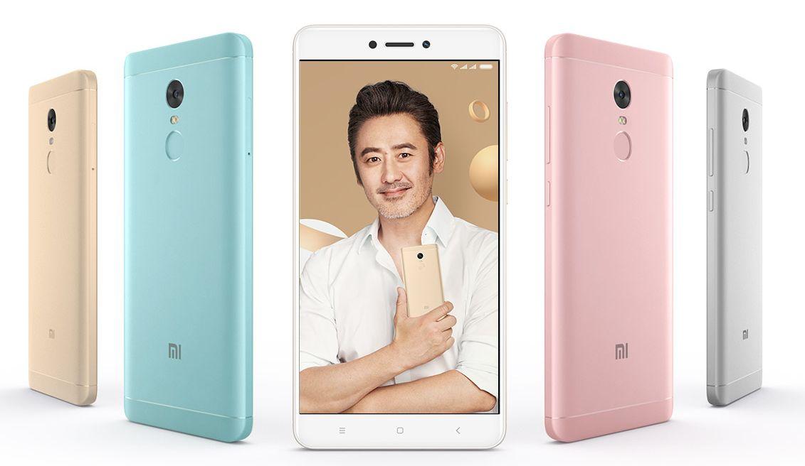 Xiaomi Redmi Note 4X Nueva versión con CPU Helio X20 y 4GB RAM + 64GB