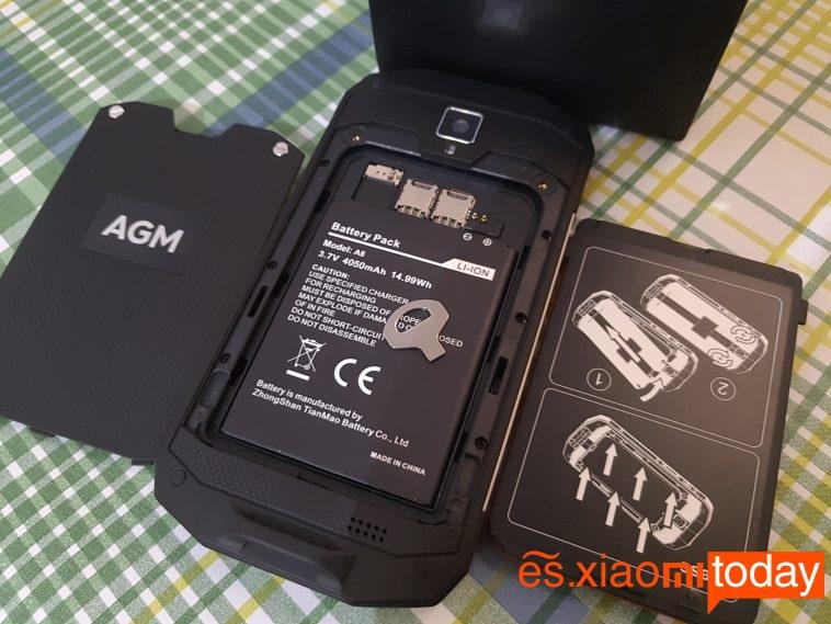 agm-a8-diseño parte trasera