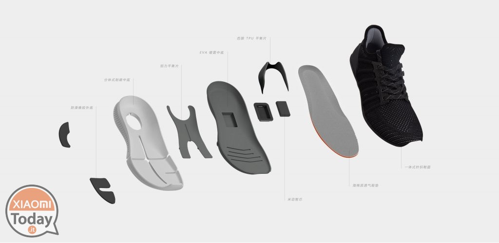 Home Sports Shoes de Xiaomi: Características