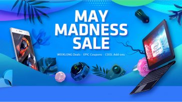 campaña Gearbest May Madness Sale destacada