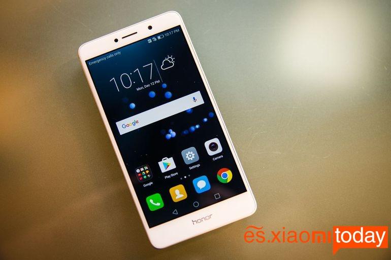 Diseño del Huawei Honor 6X
