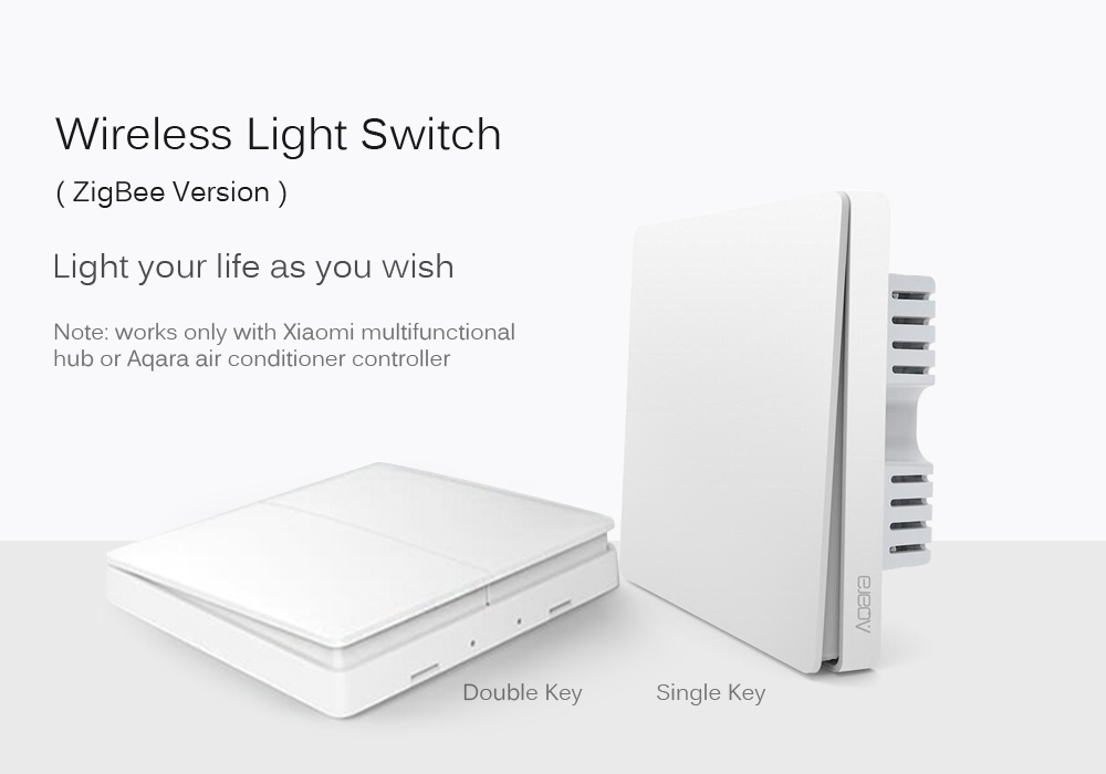 Xiaomi Aqara Wall Switch ZigBee Version