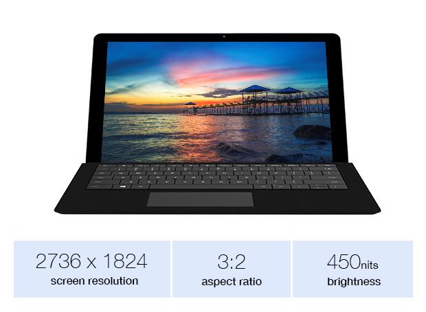 Chuwi SurBook pantalla