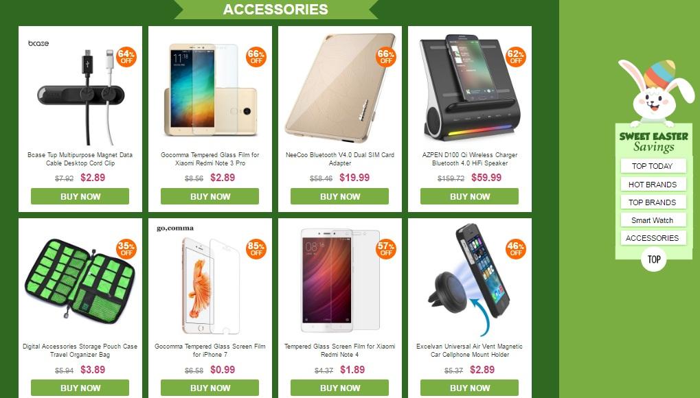 Gearbest ofertas Accesorios