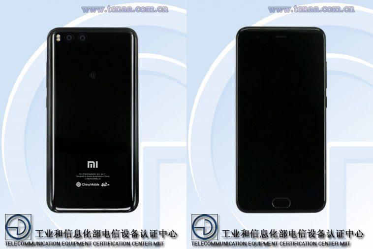 Misteriosa versión del Xiaomi Mi6 aparece en TENNA