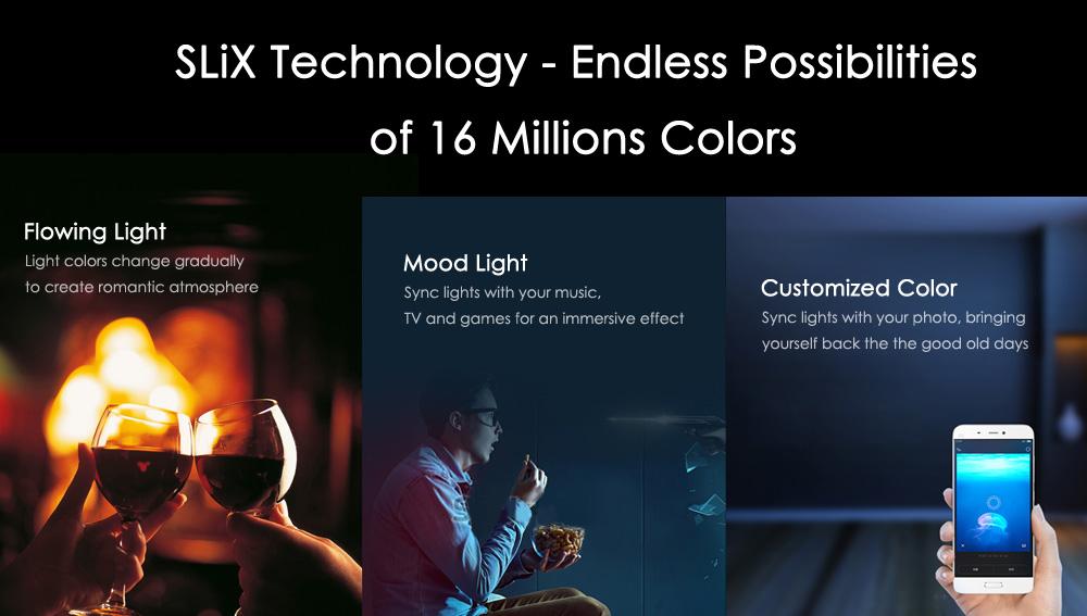 Xiaomi Yeelight Tecnología Slix