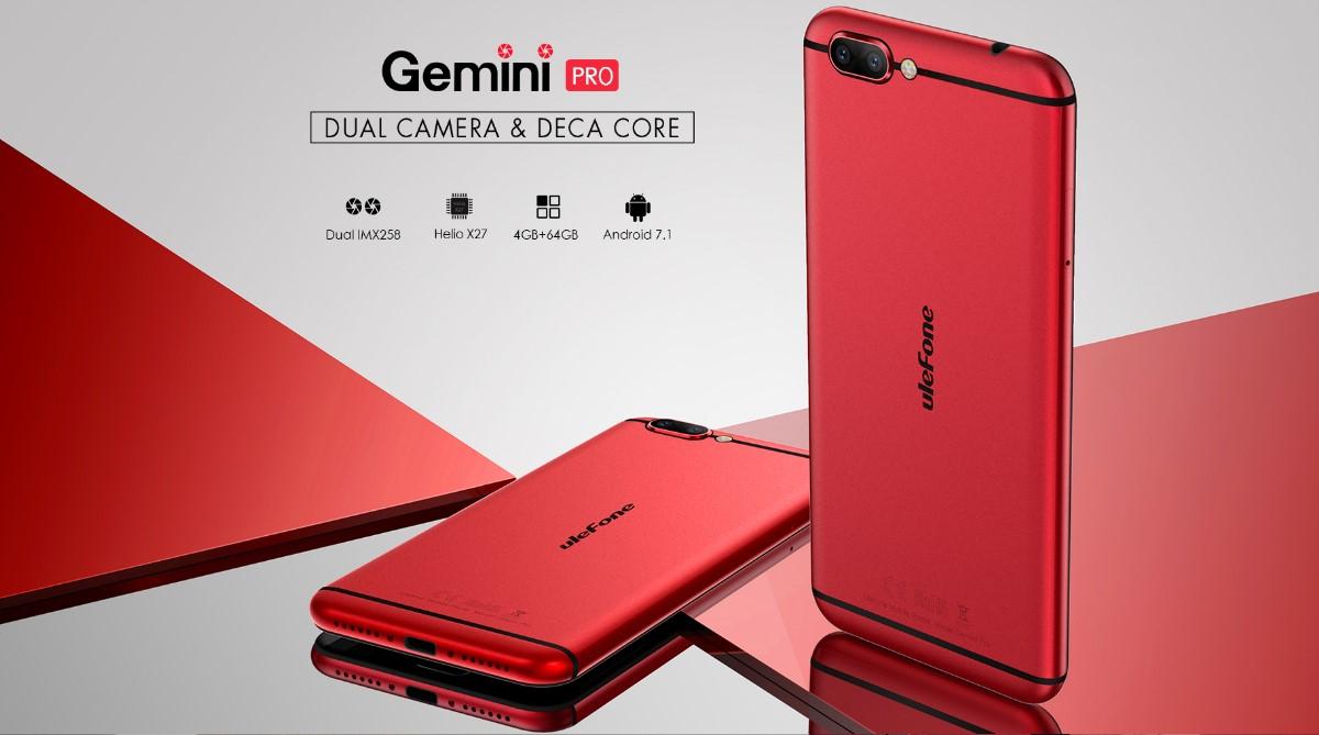 Ulefone Gemini Pro destacada