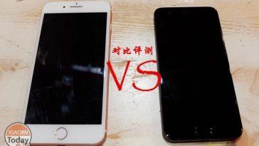 Xiaomi Mi6 vs iPhone 7 Plus portada