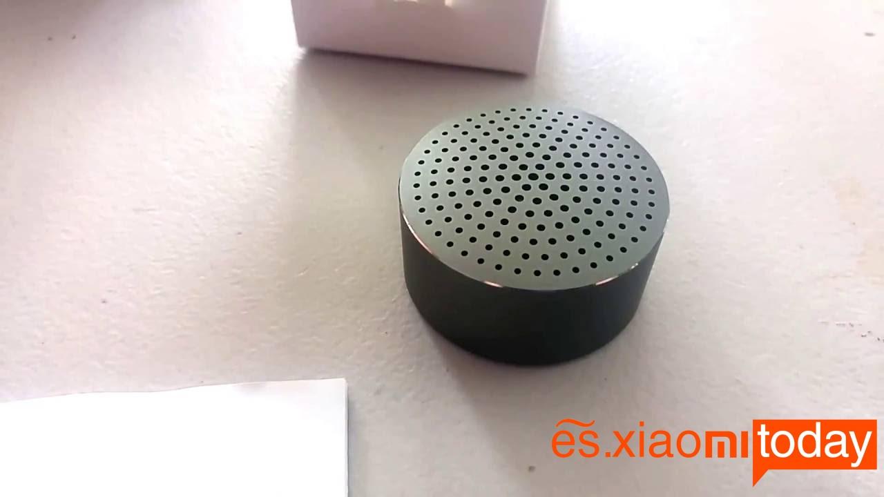Xiaomi Mini Bluetooth Speaker destacada1