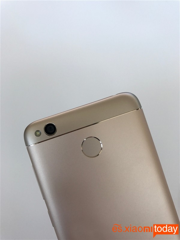 Xiaomi Redmi 4X cámaraa