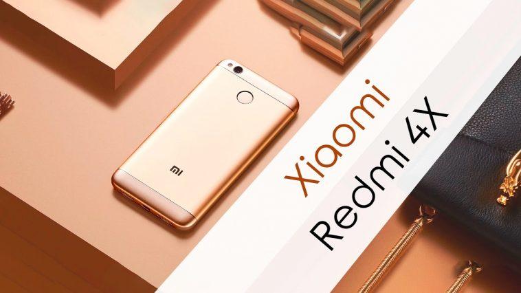 Xiaomi Redmi 4X - Ofertas de primavera de Geekbuying