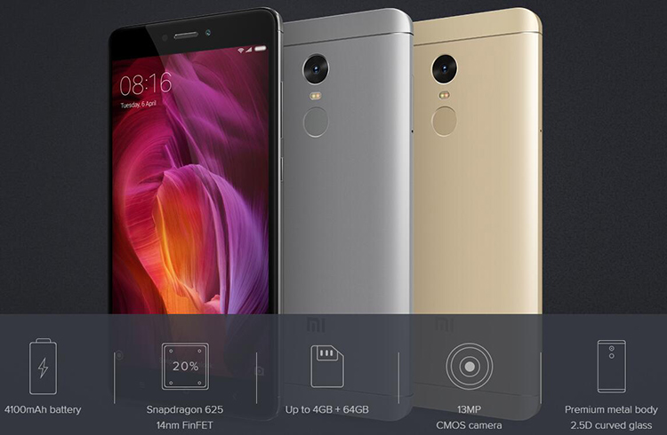 Xiaomi Redmi Note 4 intro