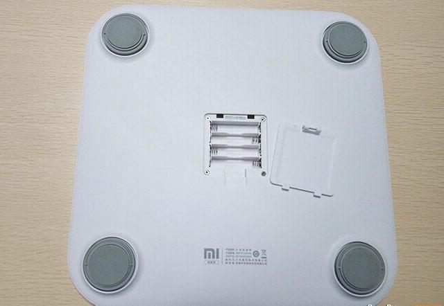 Xiaomi Smart Weight Scale parte de abajo