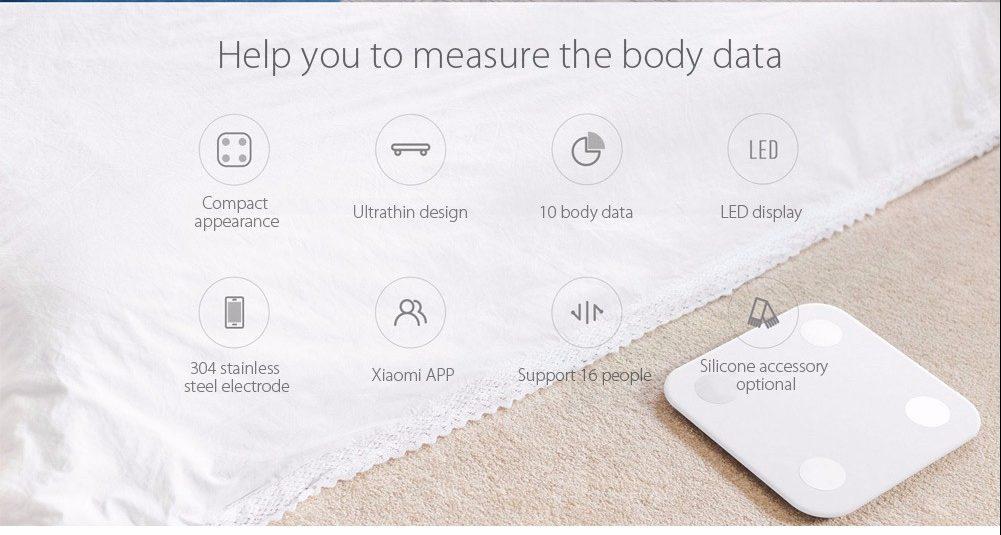 Xiaomi Smart Weight scale Data