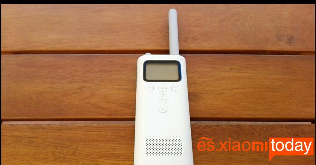 Xiaomi MiJia Walkie Talkie diseño