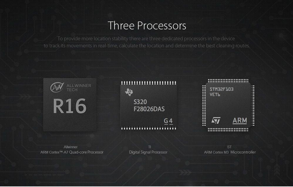 Xiaomi Mi Robot Vacuum procesadores