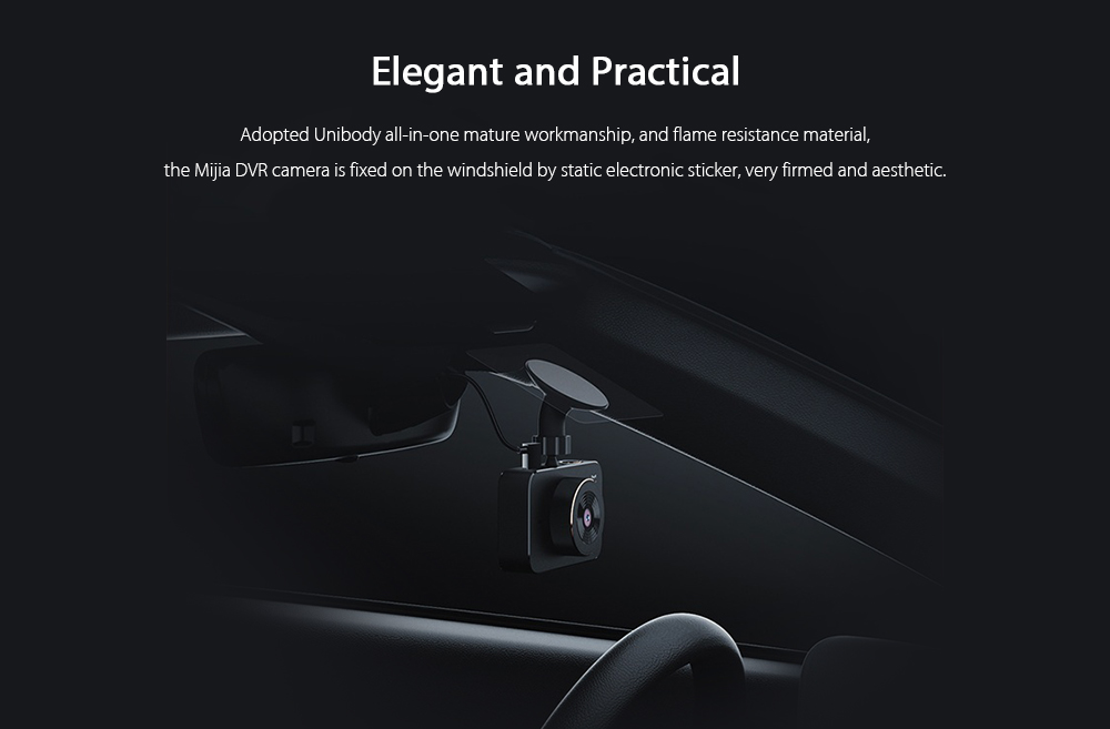 Xiaomi Mijia Car DVR elegante