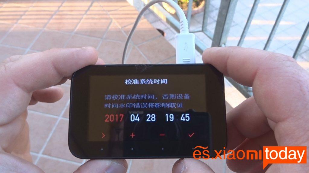 Xiaomi Mijia Car DVR menú 5