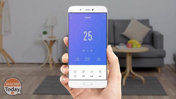 zócalo inteligente de Xiaomi: app