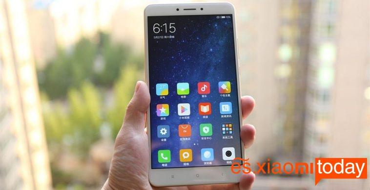 Xiaomi Mi MAX 2 análisis review