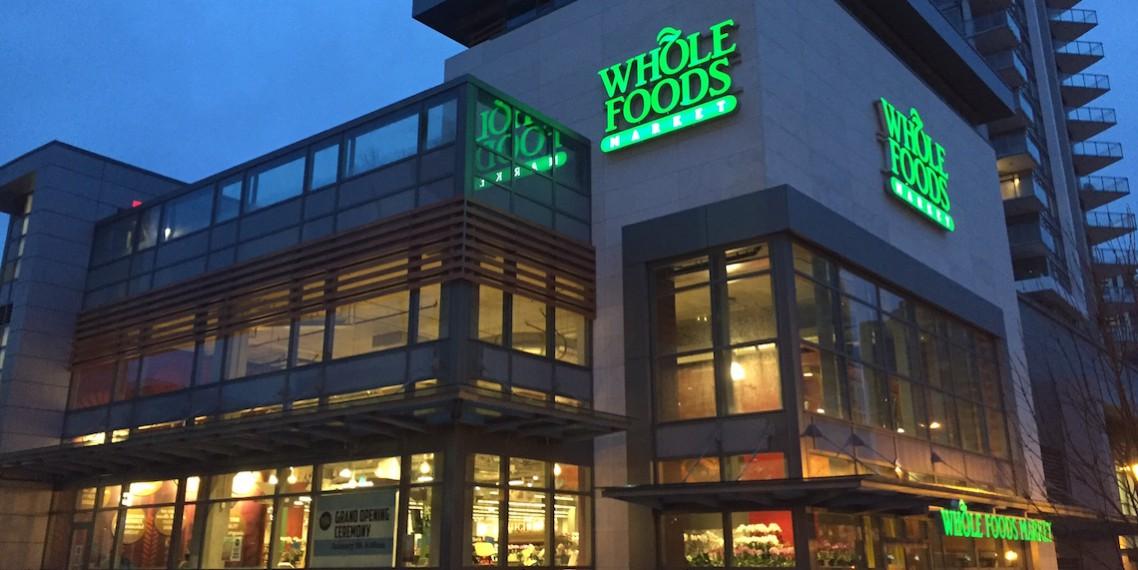 Amazon whole foods market tienda