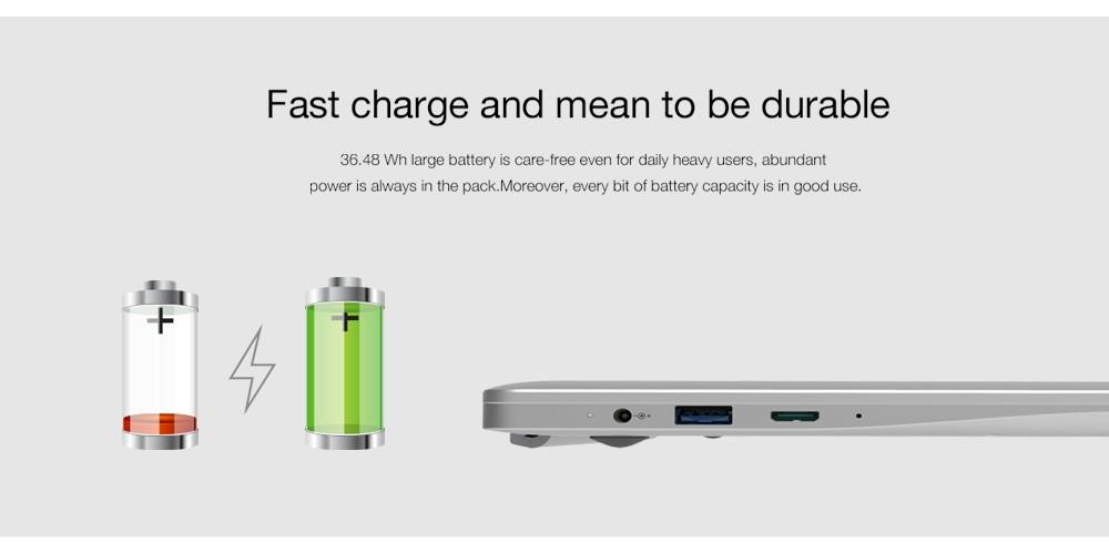 Chuwi LapBook Batería