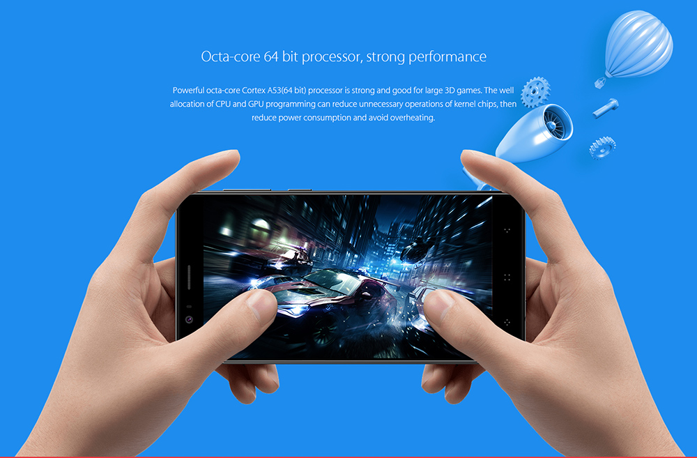 Elephone P8 Mini juegos