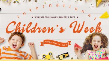 Gearbest ofertas semana de los niños destacada