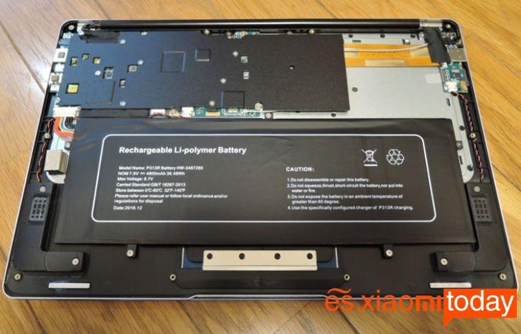 Jumper EZBook 3 Pro batería