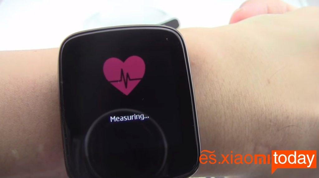KingWear GV68 sensor de ritmo cardíaco