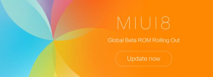 MIUI 8 actualización