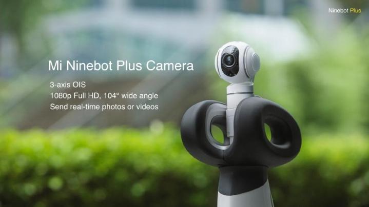 Ninebot Plus cámara