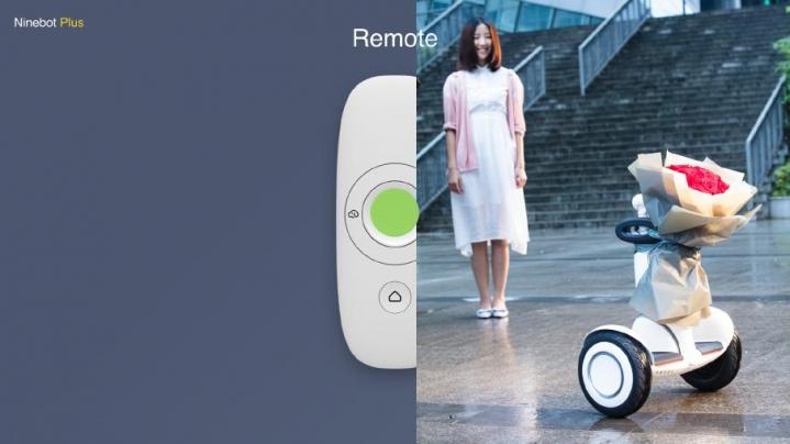 Ninebot Plus control remoto