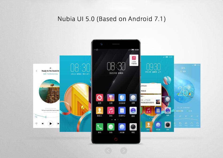 Nubia Z17 Sistema operativo