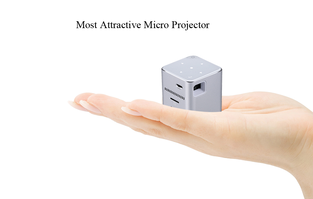 P6 Portable Smart Mini DLP destacada