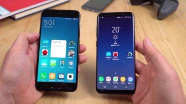 Xiaomi Mi 6 vs Samsung Galaxy S8 Presentación