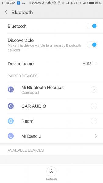 Xiaomi Mi Bluetooth Headset funciones 0