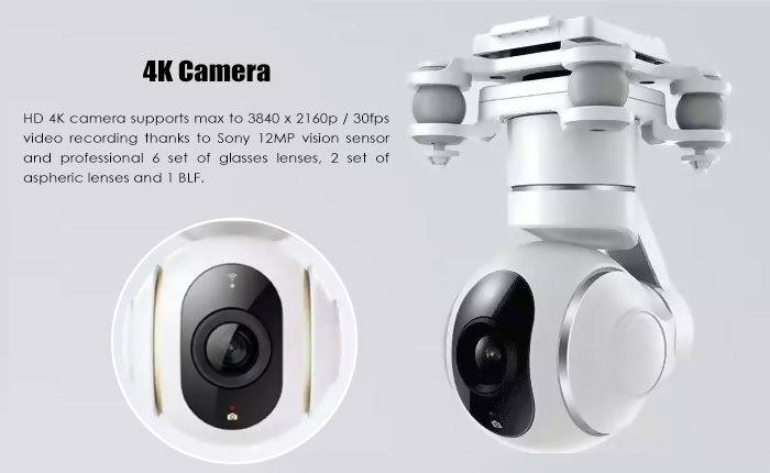 Xiaomi Mi Drone 4k Cámara