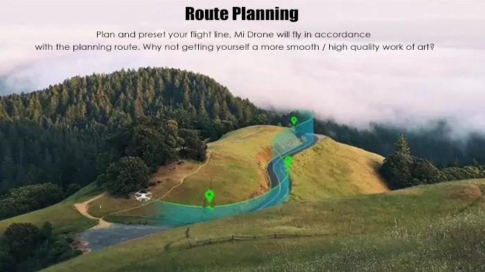 Xiaomi Mi Drone 4k planeación