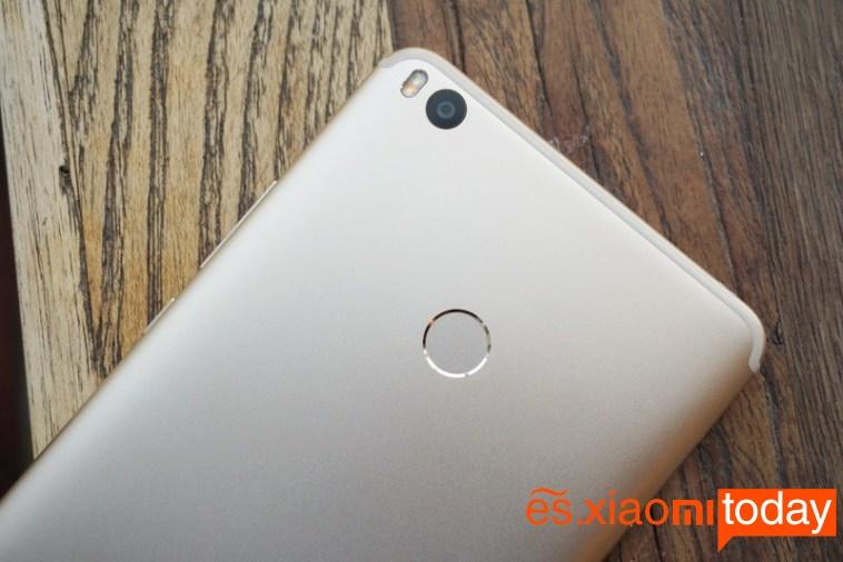 Xiaomi Mi MAX 2 cubierta trasera