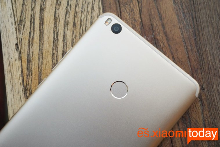 Xiaomi Mi Max 2 cámara