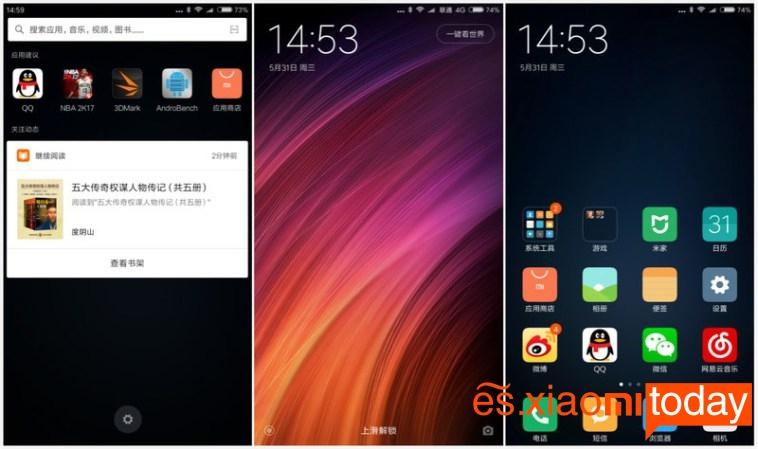 Xiaomi Mi Max 2 sistema operativo
