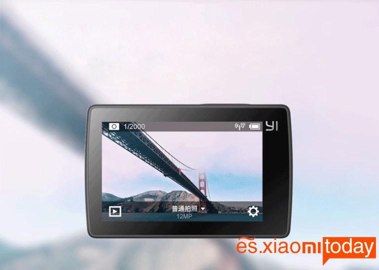 Xiaomi Yi 2 4K Pantalla