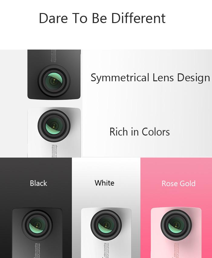 Xiaomi Yi 2 4K colores