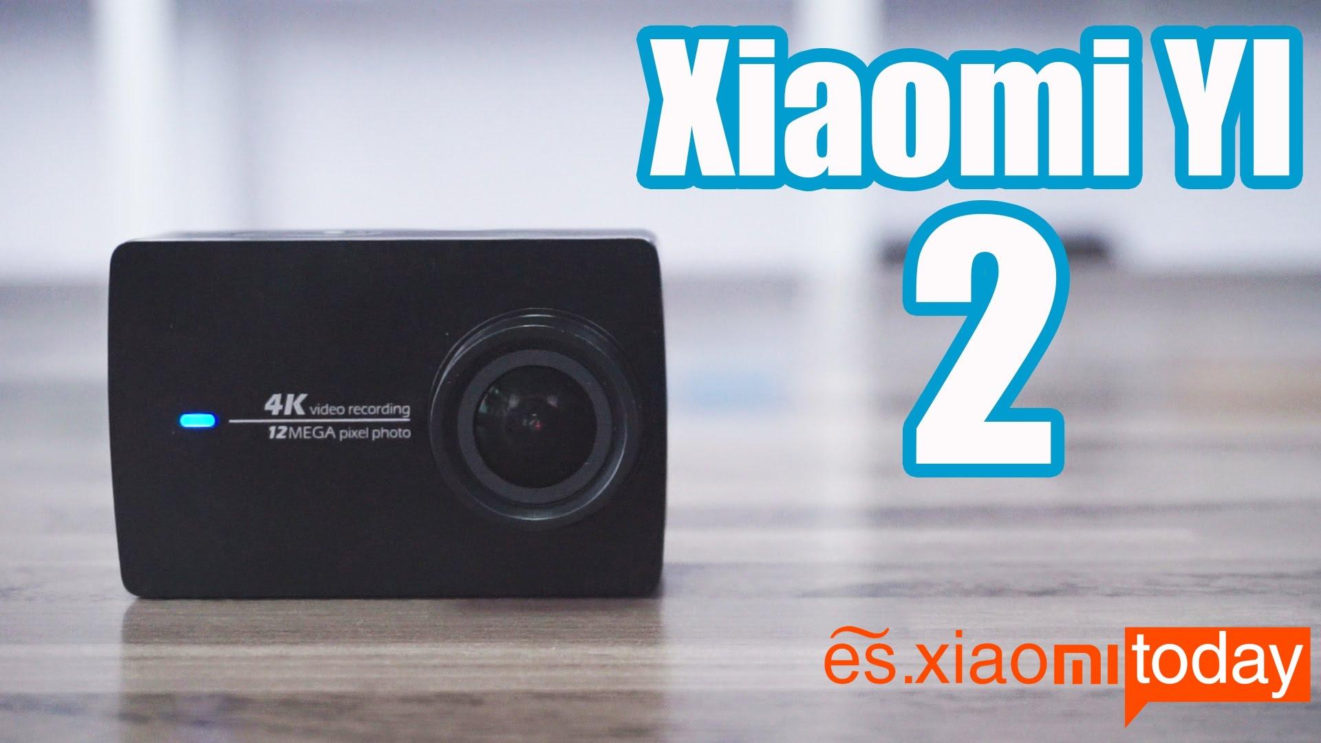 Xiaomi Yi 2 4K destacada