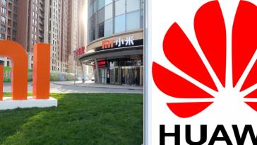 Xiaomi y Huawei