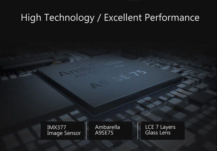 Xiaomi yi 2 4k hardware